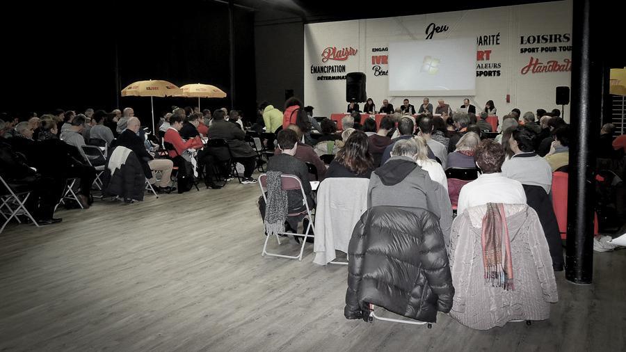 Photo de l'assemblée générale de l'US Ivry Omnisports