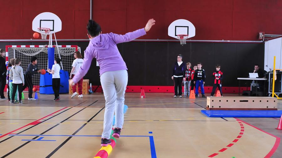 Photo d'un atelier organisé par l'US Ivry lors de la quinzaine sportive