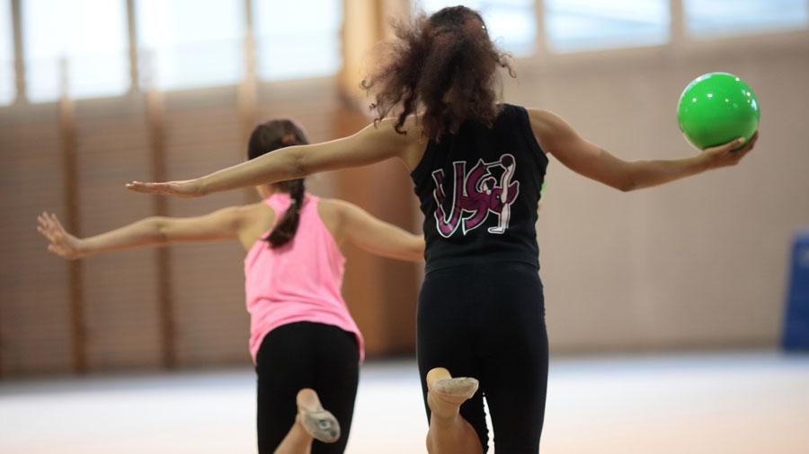 Photo de l'activité sportive gymnastique rythmique à l'US Ivry