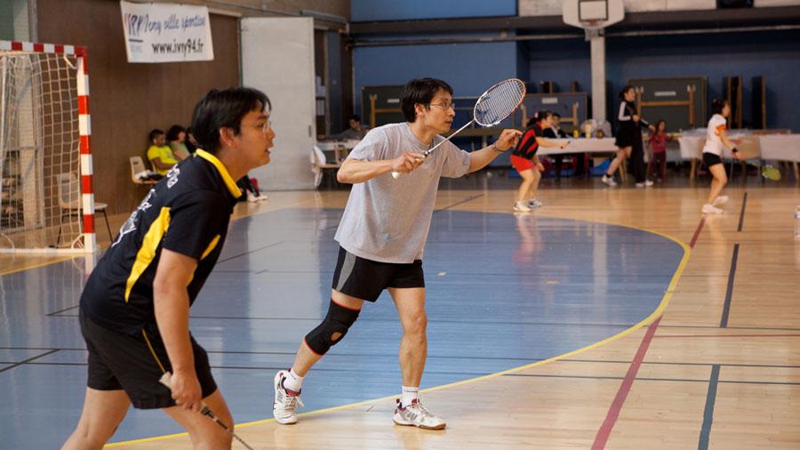 Photo de l'activité sportive badminton à l'US Ivry