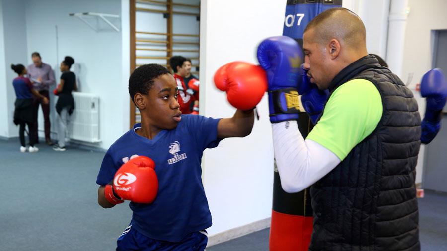 Photo de l'activité sportive boxe à l'US Ivry