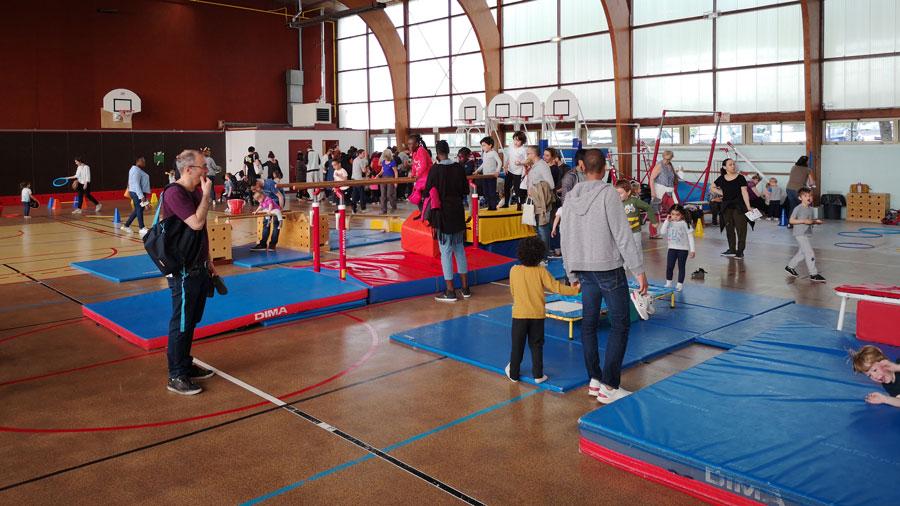 Photo de l'activité enfants multisports à l'US Ivry