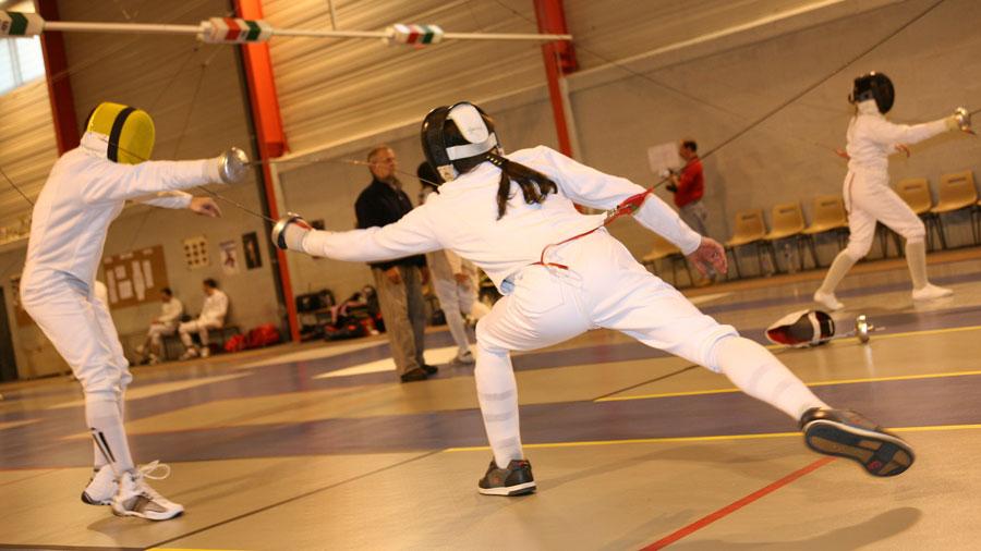 Photo de l'activité sportive escrime à l'US Ivry