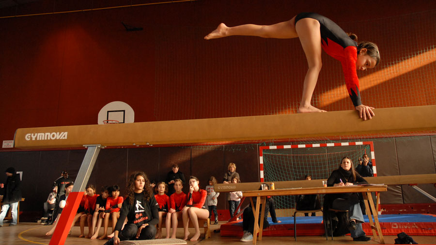Photo de l'activité sportive gymnastique à l'US Ivry
