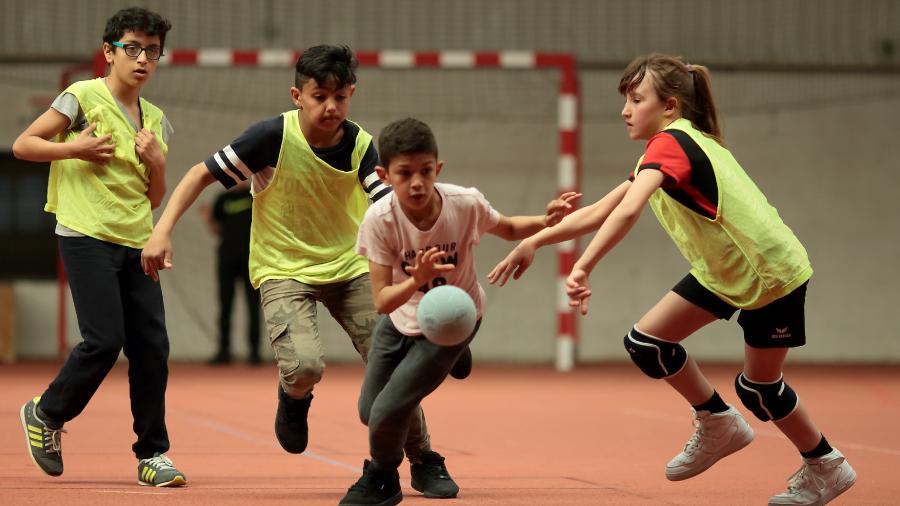 Photo de l'activité sportive handball à l'US Ivry