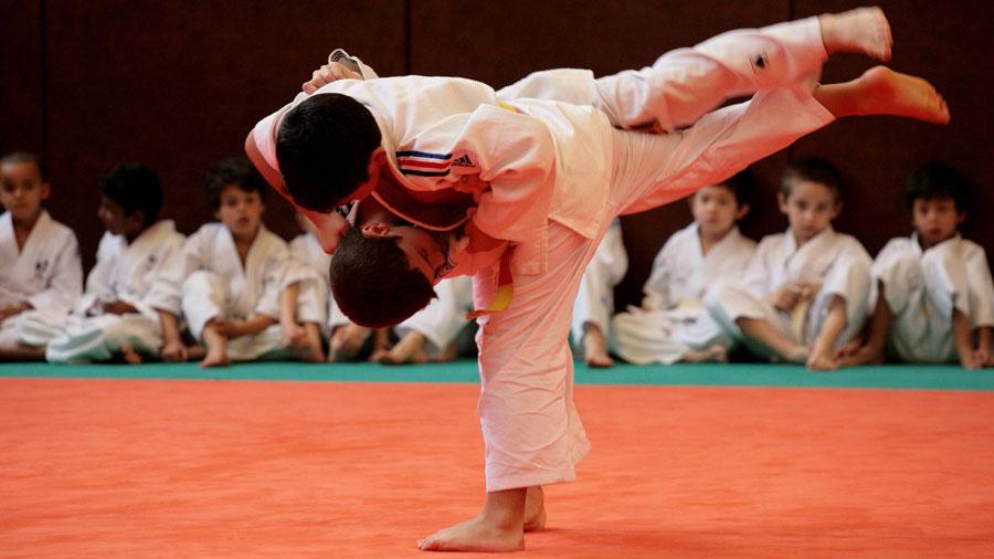Photo de l'activité sportive judo à l'US Ivry
