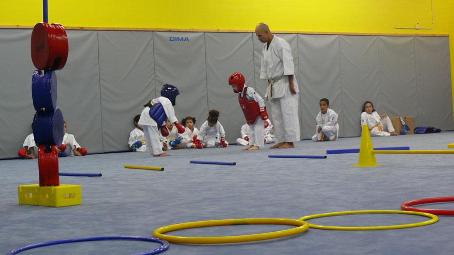 Photo de l'activité sportive karaté à l'US Ivry