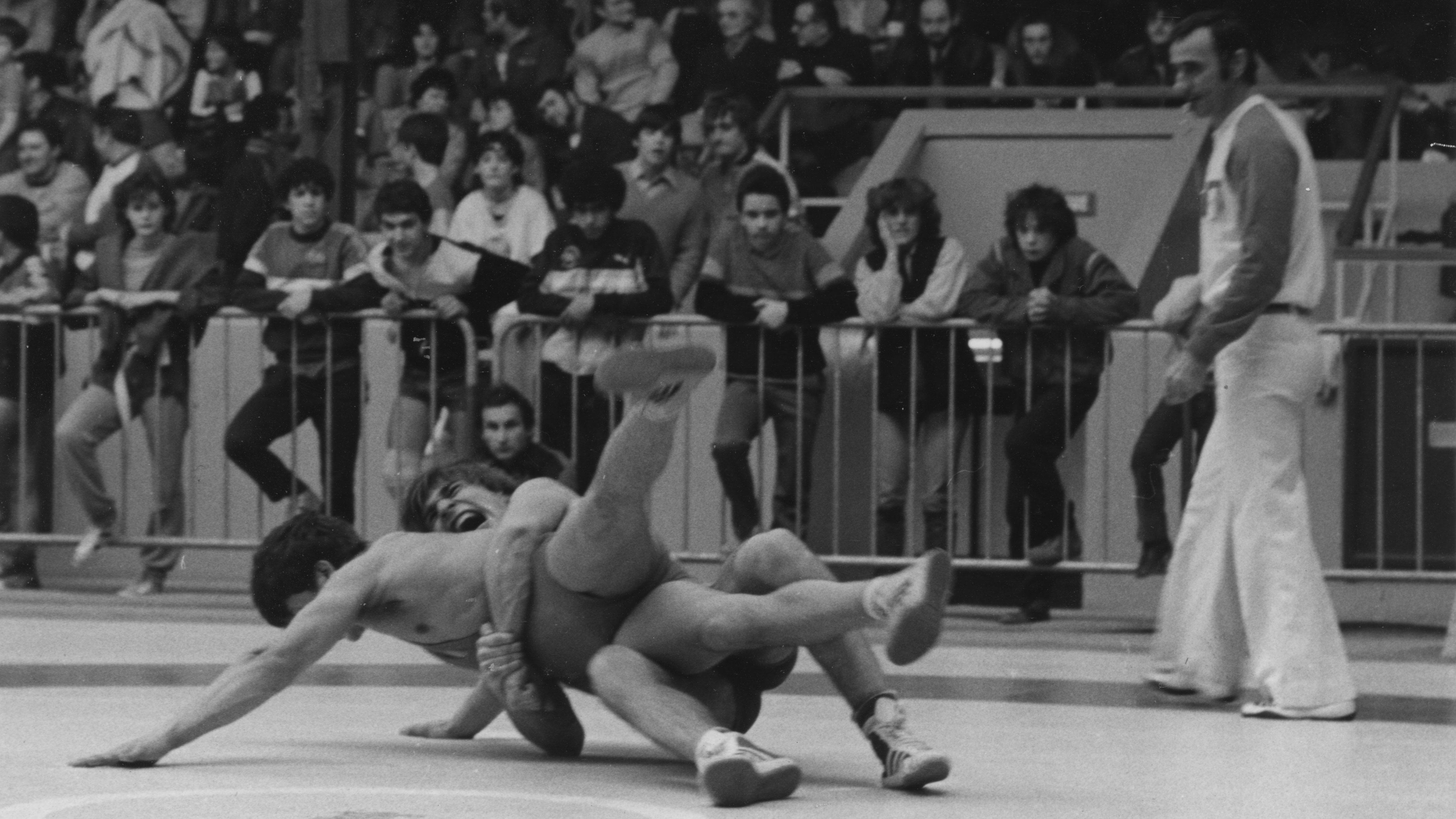Photo de l'activité sportive lutte lors d'un tournoi