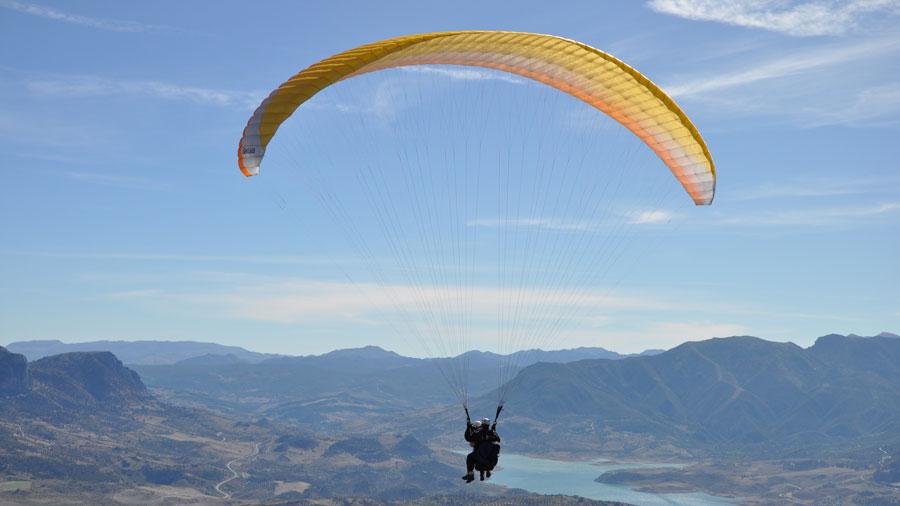 Photo de l'activité sportive parapente à l'US Ivry
