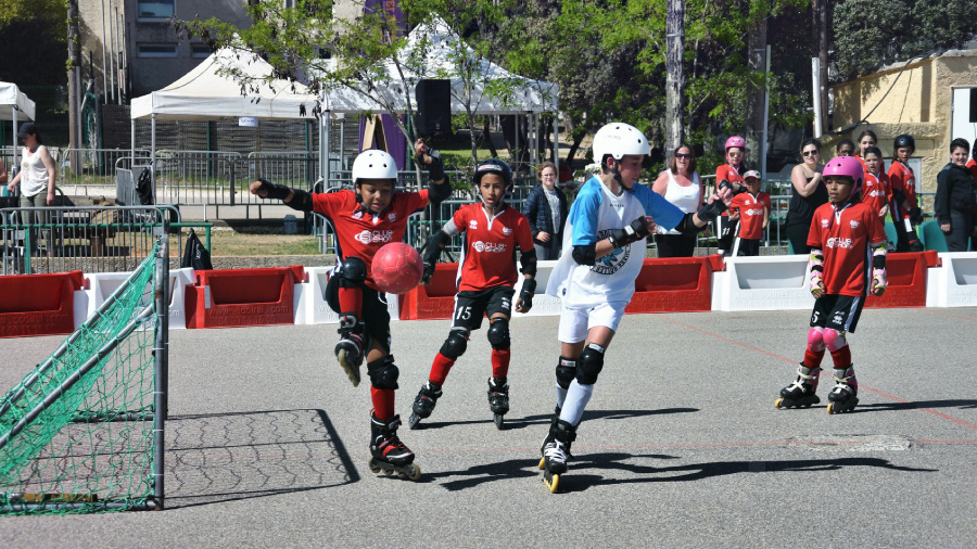 Photo de l'activité sportive roller rollerfoot à l'US Ivry