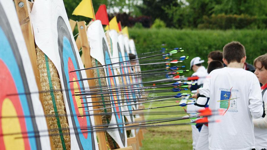 Photo de l'activité sportive tir à l'arc à l'US Ivry