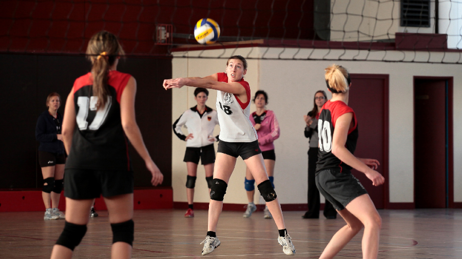 Photo de l'activité sportive volley-ball à l'US Ivry